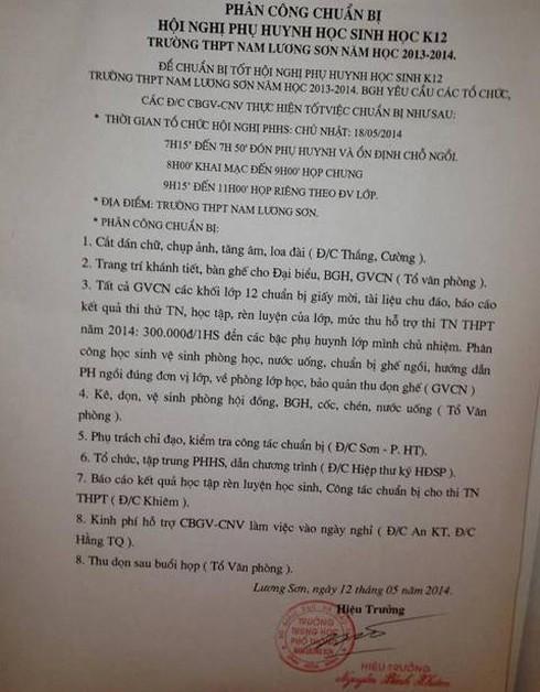 Thầy Đỗ Việt Khoa kể việc quay clip tại trường THPT Nam Lương Sơn - ảnh 1