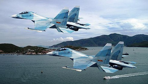 Su-30MK2 Việt Nam không chiến trên cơ J-15 TQ - ảnh 4
