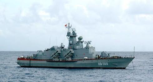 Hải quân Việt Nam chuẩn bị bắn đạn thật trên biển - ảnh 4