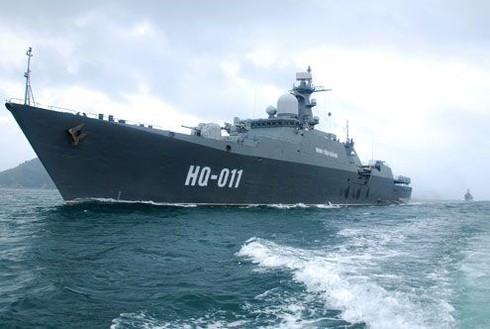 Hải quân Việt Nam chuẩn bị bắn đạn thật trên biển - ảnh 1