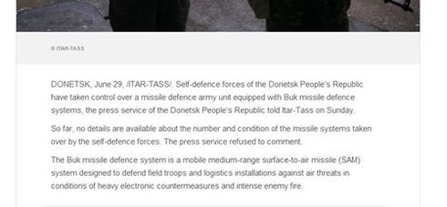 Quân đội Ucraina và phiến quân đều có tên lửa bắn hạ được MH17 - ảnh 2