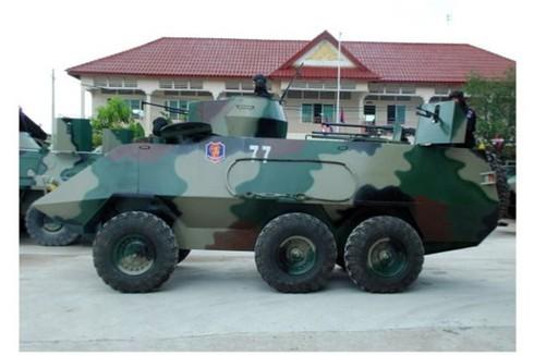 2 nông dân Việt Nam chế xe bọc thép cho quân đội Campuchia - ảnh 2