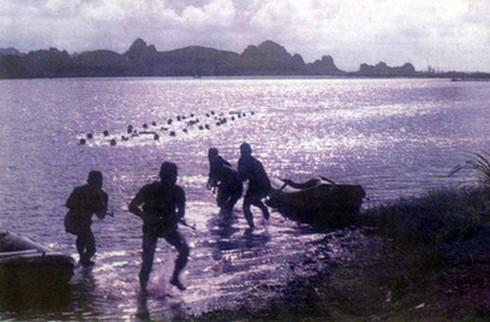 Những trận đánh huyền thoại của Đặc công Hải quân Việt Nam (P.1) - ảnh 2