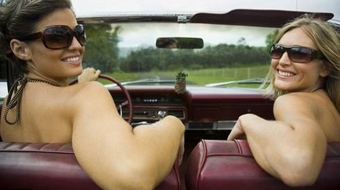 Ở Đức có thể khoả thân khi lái xe - ảnh 1