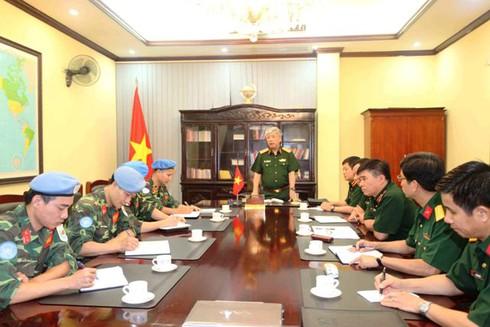 Thêm 2 sĩ quan Việt Nam tham gia lực lượng Gìn giữ hoà bình LHQ - ảnh 2