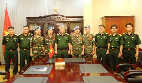 Thêm 2 sĩ quan Việt Nam tham gia lực lượng Gìn giữ hoà bình LHQ - ảnh 3