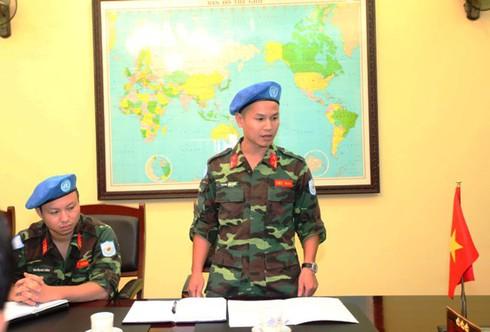 Thêm 2 sĩ quan Việt Nam tham gia lực lượng Gìn giữ hoà bình LHQ - ảnh 4