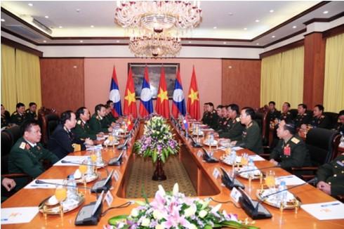 Tổng Tham mưu trưởng Quân đội nhân dân Lào thăm Bộ Quốc phòng - ảnh 2