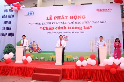 Honda Việt Nam sẽ tặng 20.000 mũ bảo hiểm cho thanh thiếu niên - ảnh 3