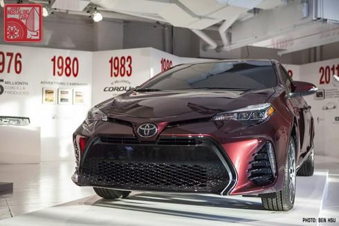 Phiên bản Toyota Corolla 2017 mừng tuổi 50 ra mắt - ảnh 1