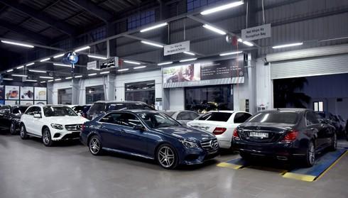 Mercedes-Benz Việt Nam đầu tư 4 triệu USD nâng tầm Haxaco Láng Hạ - ảnh 8