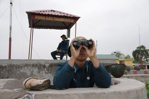 Hình ảnh pháo thủ cao xạ đất Cảng sẵn sàng chiến đấu - ảnh 4