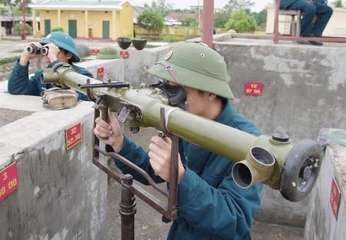 Hình ảnh pháo thủ cao xạ đất Cảng sẵn sàng chiến đấu - ảnh 5