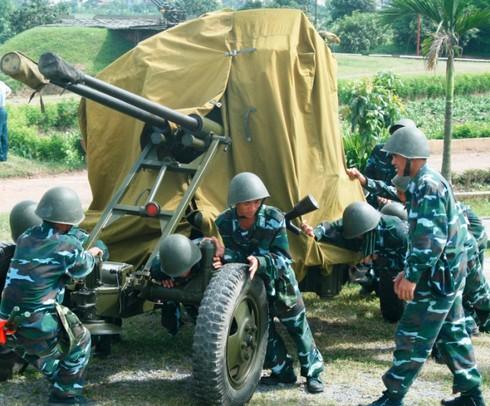 Xem bộ đội Trung đoàn cao xạ 280 đưa pháo vào trận địa - ảnh 6