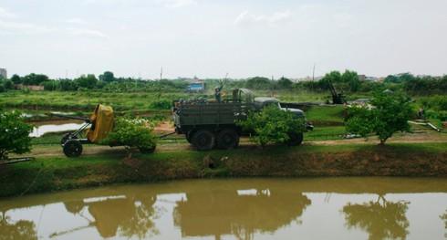 Xem bộ đội Trung đoàn cao xạ 280 đưa pháo vào trận địa - ảnh 5