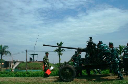 Xem bộ đội Trung đoàn cao xạ 280 đưa pháo vào trận địa - ảnh 9