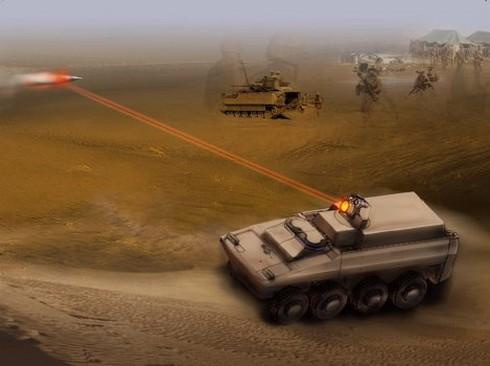 Anh khởi động dự án chế tạo vũ khí laser công suất cao - ảnh 1