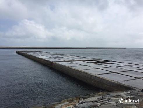 Hà Tĩnh: Xuất hiện dải nước