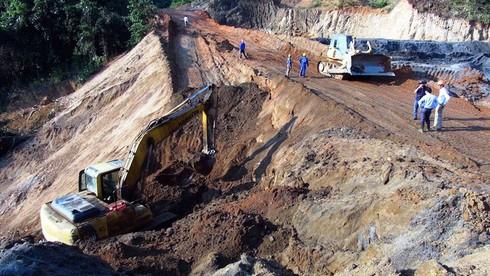 Hai Bộ vào cuộc kiểm tra vụ vỡ đập mỏ thiếc Suối Bắc - ảnh 1