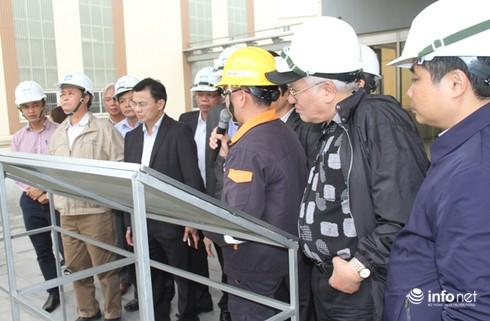 Bộ TN&MT kiểm tra tại Formosa về công tác khắc phục sự cố môi trường - ảnh 1
