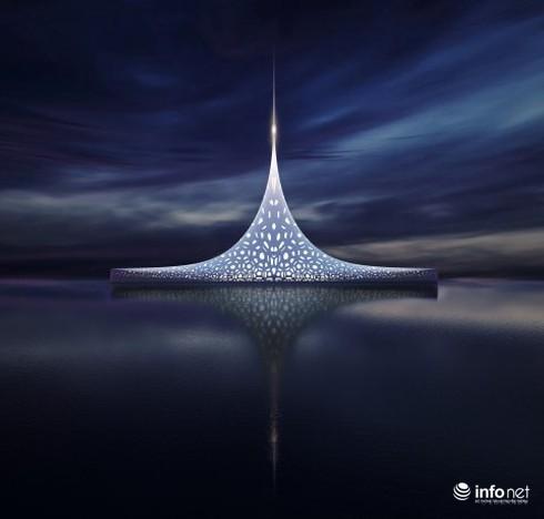 Khám phá siêu du thuyền, thiết kế độc đáo có giá nửa tỷ USD - ảnh 1