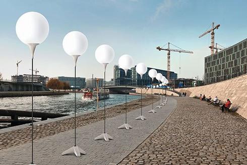 Đức: Tái hiện 'Bức tường Berlin' bằng 8.000... bóng bay - ảnh 3