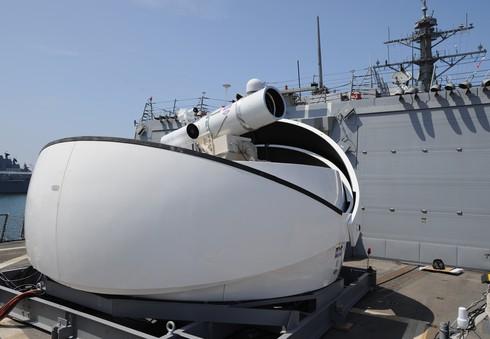 Mỹ triển khai hệ thống vũ khí laser đầu tiên ở vùng Vịnh - ảnh 1