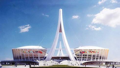 Campuchia xây sân vận động 100 triệu USD từ tiền Trung Quốc tài trợ - ảnh 1