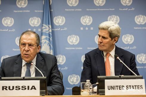 Mỹ và Nga xét duyệt thành phần tham gia đàm phán Syria - ảnh 1
