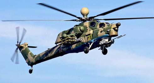 Trực thăng quân sự Nga rơi tại Syria, hai phi công tử nạn - ảnh 1