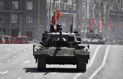 Quân đội Nga sẽ sở hữu 100 xe tăng Armata vào năm 2018? - ảnh 1