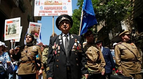 """Ảnh: Phong trào """"Trung đoàn Bất tử"""" diễn ra tại nhiều nơi trên thế giới - ảnh 5"""