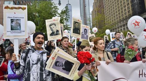 """Ảnh: Phong trào """"Trung đoàn Bất tử"""" diễn ra tại nhiều nơi trên thế giới - ảnh 6"""