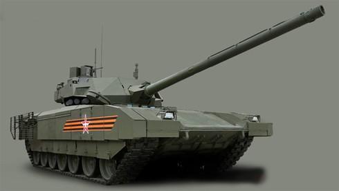 Quân đội Nga sẽ mua 100 xe tăng T-14 Armata - ảnh 1