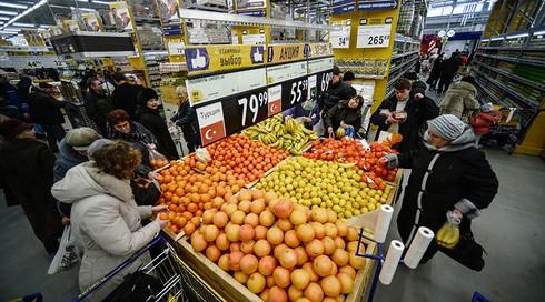 """Tổng thống Putin: Nga sẽ cấm nhập thực phẩm phương Tây """"lâu nhất có thể"""" - ảnh 1"""