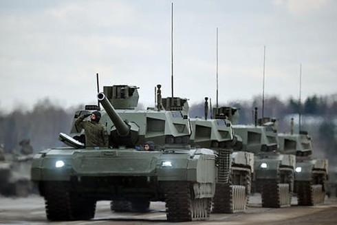 Xe tăng Armata sẽ được gắn thêm máy bay do thám không người lái - ảnh 1
