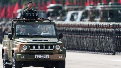 Hồng Kông chào đón ông Tập Cận Bình, làm diễu binh lớn nhất trong lịch sử - ảnh 1