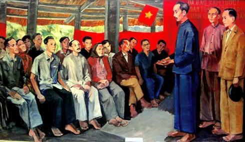 Cờ đỏ sao vàng - Biểu tượng bất diệt của Tổ quốc Việt Nam - ảnh 1