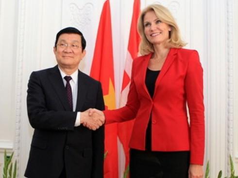 Lập quan hệ Đối tác toàn diện Việt Nam-Đan Mạch - ảnh 1