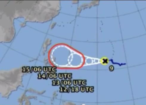 Nguy cơ bão Rammasun trở thành cơn bão số 2 trên Biển Đông - ảnh 1