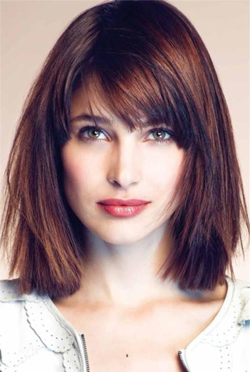 Chọn kiểu tóc đẹp phù hợp khuôn mặt tròn, dài, trái xoan... - ảnh 5