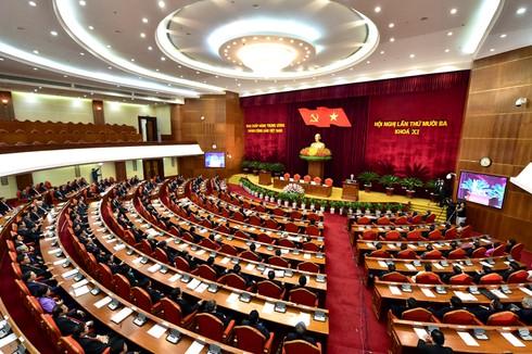 Bế mạc Hội nghị Trung ương lần thứ 13 - ảnh 2