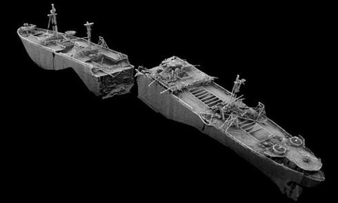 Xác tàu chứa hơn 2.000 bom dễ phát nổ từ Thế chiến 2 - ảnh 1