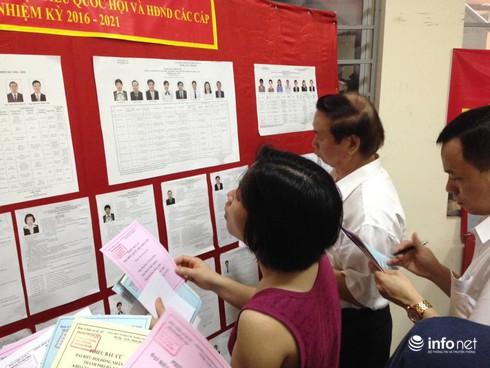 Cử tri nô nức đi bầu cử ĐBQH khóa 14 và đại biểu HĐND các cấp - ảnh 4