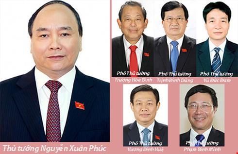 Thủ tướng và 5 Phó Thủ tướng phụ trách những công tác gì? - ảnh 1
