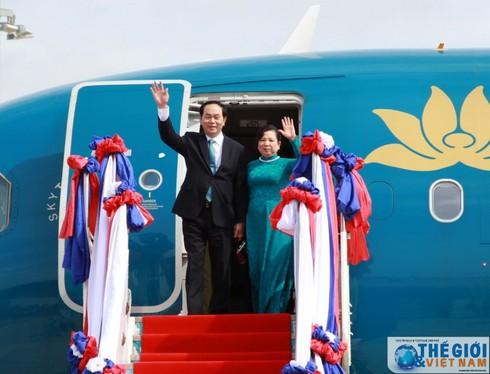 Chủ tịch nước lên đường thăm chính thức Cuba - ảnh 1