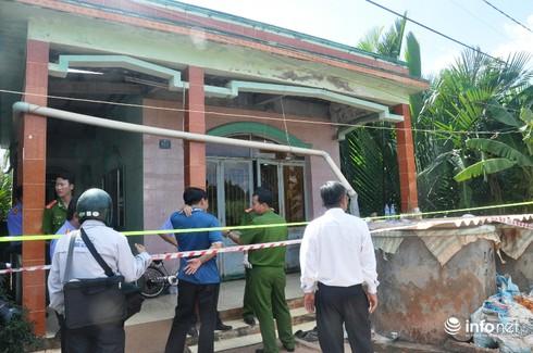 Chính quyền địa phương thăm hỏi, hỗ trợ gia đình vụ thảm án ở Long An - ảnh 1