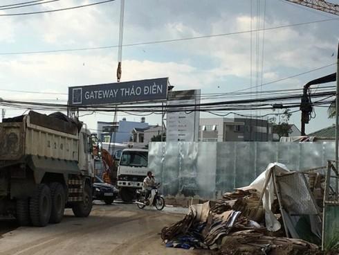Dự án Gateway Thảo Điền: Chưa đền bù cho dân đã bán căn hộ? - ảnh 1