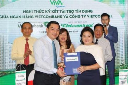 Dự án BĐS của Vietcomreal được đối tác ngân hàng tài trợ vốn gần 1.500 tỷ đồng - ảnh 1