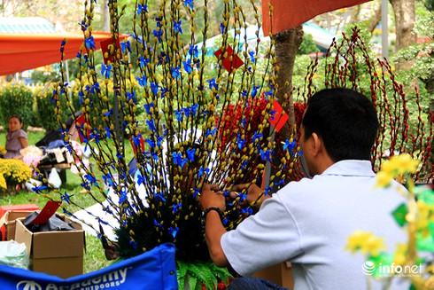 Du khách nước ngoài ngẩn ngơ trước rừng hoa bán Tết ở TP.HCM - ảnh 4